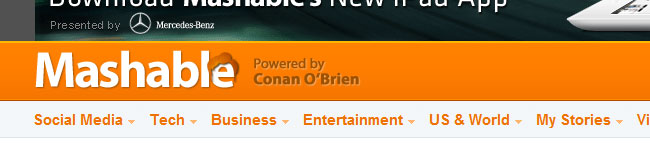 Conan Now Runs Mashable; Boots Pete Cashmore