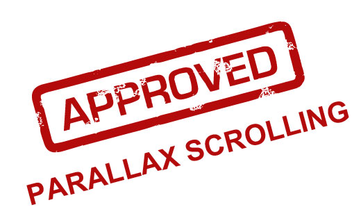 Approved for Parallax Scrolling