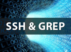 How to use GREP with SSH to search your database