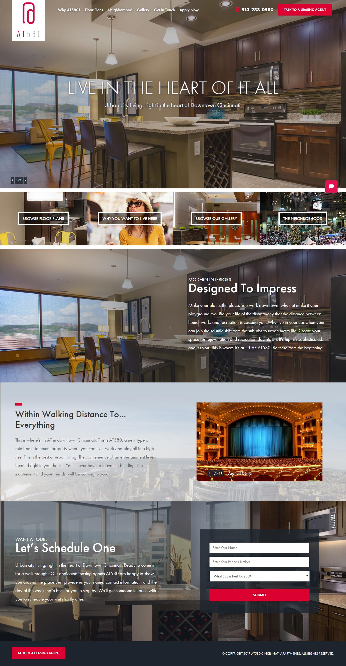 interior web design